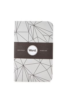 Word. Geo Abstract Print Notebook Set   Forever 21 - 1000156042