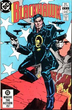 Howard Chaykin produced a number of covers--and the occasional short story--for DC Comics' *Blackhawk* series before its cancellation in the early '80s.