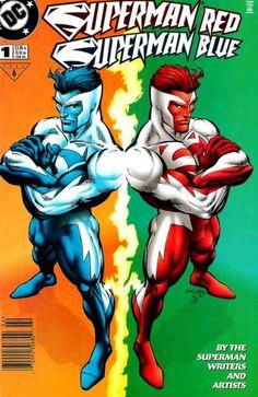 Superman blue/Superman red