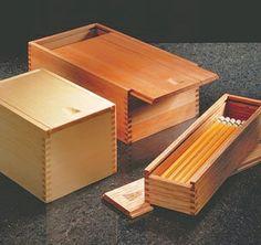 Sliding Lid Boxes