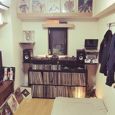 「DIY レコード部屋」の画像検索結果