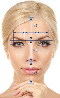 Resultado de imagem para golden ratio face