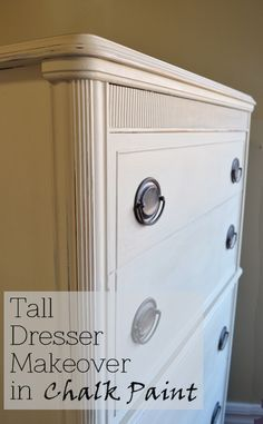 Tall Dresser Makeover - Before & After Pictures!
