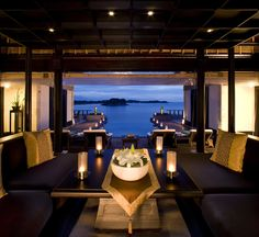 romantic place where to have dinner.