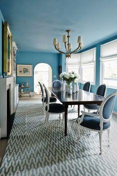 Classic Dining Room Inspiration. French Furniture. Oficina Inglesa London.