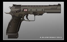BBros Model 2022 Pistol by BlackDonner on deviantART