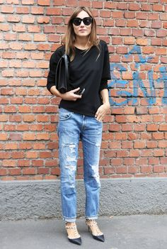careless but in an effortlessly chic – and not a grungy – way. (image: fashionising)