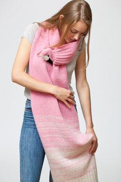 Stolen - Flamingostola - ein Designerstück von Nina-Fuehrer bei DaWanda