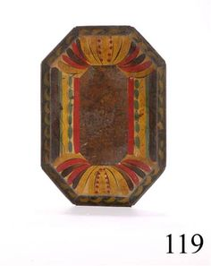 Antique Tole tray ~ sold at auction for $2,700