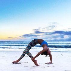 yoga on the beach #fitspo