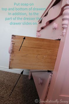 Make Dresser Drawers Slide With Ease By