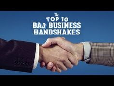 What does your handshake say about you? Watch this to make sure it's something good! #CareerTipTuesday
