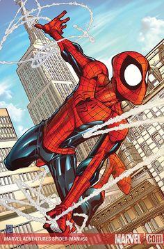 Spider-Man by Patrick Scherberger