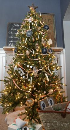 Jeanne Oliver Designs Christmas Tree Reveal