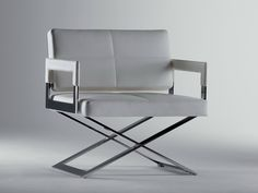 ASTER X Easy chair by Poltrona Frau design Jean-Marie Massaud in 2005.