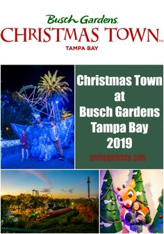 The holidays come to life at Busch Gardens Tampa Bay's Christmas Town with new offerings daily through January 6, 2020.