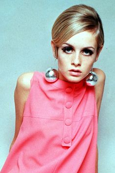 Twiggy the model, l remember when  they did the write up of her. In our local paper, the Cleveland Plain Dealer.