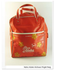 Aloha Airlines Funbirds Flight Bag