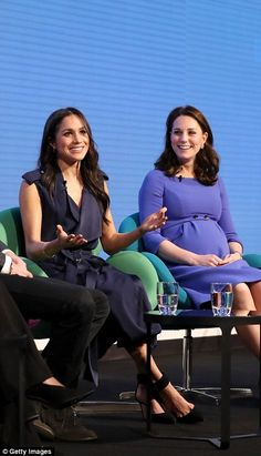 Meghan was keen to outline her support for women's rights...