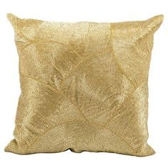 Mina Victory Luminescence Cotton Throw Pillow Color: