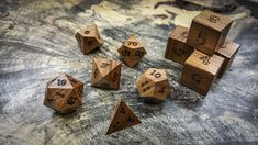 Apple Wood | Artisan Dice