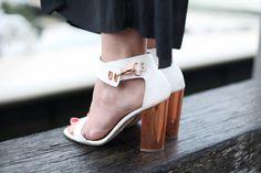 Topshop sandal heels.