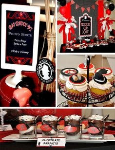 Gangster Themed Party
