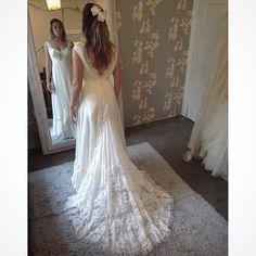 Última prova da Babi Violin. Wedding Dress Atelier Carla Gaspar.
