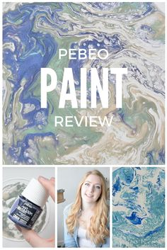 Watch my Pebeo Paint review & demonstration here!