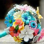 Un bouquet de papier | Blog mariage, Mariage original, pacs, déco