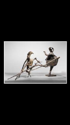 """Germaine Richier - """" La Montagne """", 1955/1956 - Bronze, patina with gold finish - 185 x 330 x 130 cm"""
