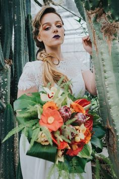 TROPICAL GREENHOUSE WEDDING IDEAS | Bespoke-Bride: Wedding Blog