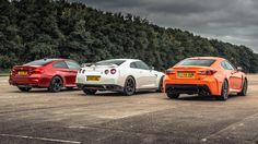 BMW M4 vs Lexus RC-F vs GT-R - Top Gear: Drag Races
