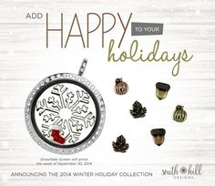 New Holiday Season charms and screens!!!  Get a head start on your Christmas shopping!!!  www.charmingbeautyboutique.com
