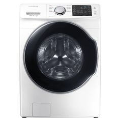 Samsung 4.5 cu. ft. High Efficiency Front Load Washer with Steam in White, Energy Star