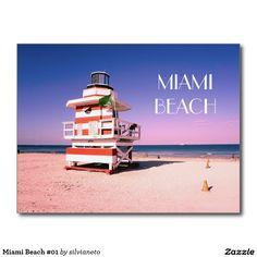Miami Beach #01 Postcard