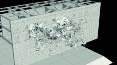 Houdini Demolition ProcessComputer Graphics & Digital Art Community for Artist: Job, Tutorial, Art, Concept Art, Portfolio
