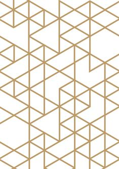 Triangle print Gold triangle Geometric print by planeta444 on Etsy