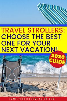 Here Are The Best Lightweight Travel Strollers For Your Vacation Packing For A Cruise, Cruise Tips, Cruise Travel, Cruise Vacation, Vacation Trips, Vacation Travel, Toddler Travel, Travel With Kids, Family Travel