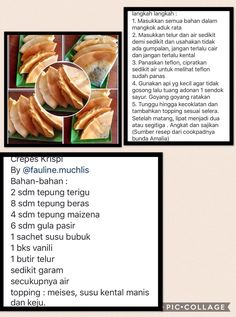 Indonesian Desserts, Indonesian Cuisine, Asian Desserts, My Recipes, Cookie Recipes, Snack Recipes, Dessert Recipes, Snacks, Cooking Time