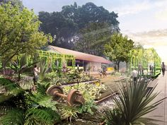 Gallery - Nikken Sekkei Designs Master Plan to Revitalize a Former Railway Spanning the Entirety of Singapore - 1