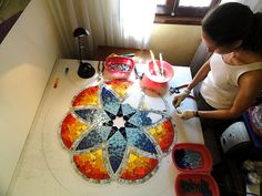 Work in progress - Mandala