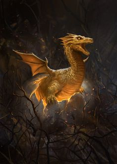 Dragon Hatchling by gerezon on deviantART