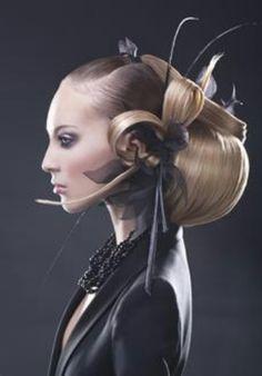 Avant Garde Hair - Sleek And Simple But Effective. #AvantGarde