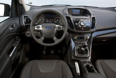 The cabin in the Ford Kuga is nicely designed Driving Test, Ford, Vehicles, Cabin, Design, Cabins, Car, Cottage