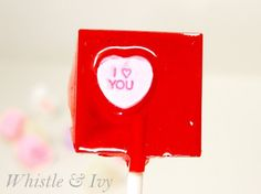 Kool-Aid Lollipops - 21 Creative DIY Valentine Day Gifts For Him