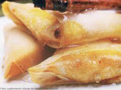 Receita de Azevias de Batata-doce com Massa Brick | Doces Regionais