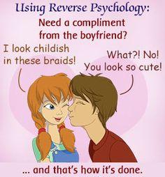 reverse psychology breakup