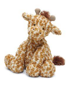 Medium Fuddlewuddle Giraffe Stuffed Animal, Tan/Cream