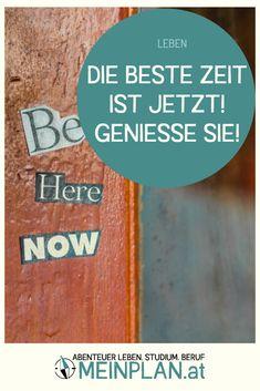Lasst uns auf unsere Herzen hören und unsere Träume verwirklichen! Nicht irgendwann, sondern JETZT. Life Goals, Setting Goals, German Language, Good Times